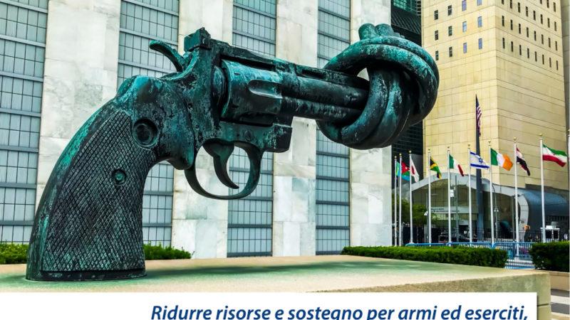 Inizia la settimana internazionale per il Disarmo: costruire insieme strade di Pace