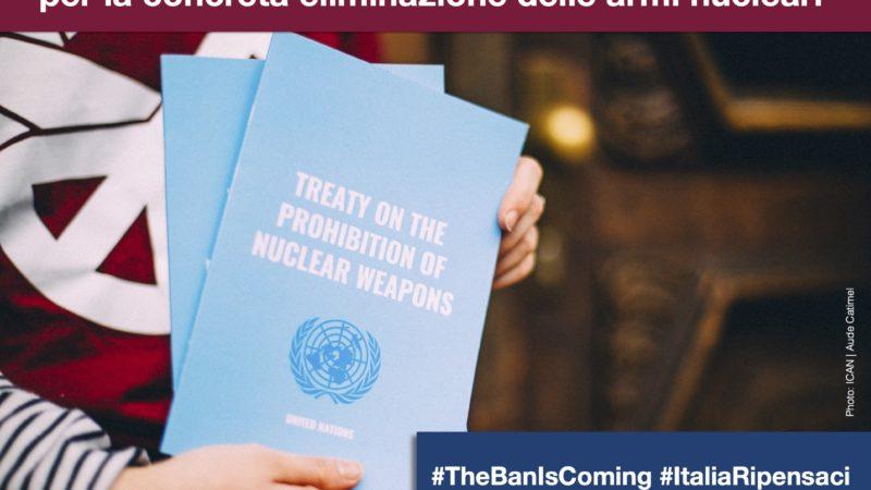 Il Trattato internazionale TPNW: un nuovo scenario per la concreta eliminazione delle armi nucleari