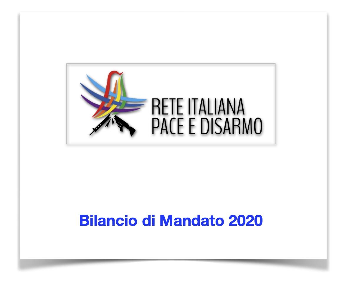 Bilancio di Mandato 2020 della RiPD