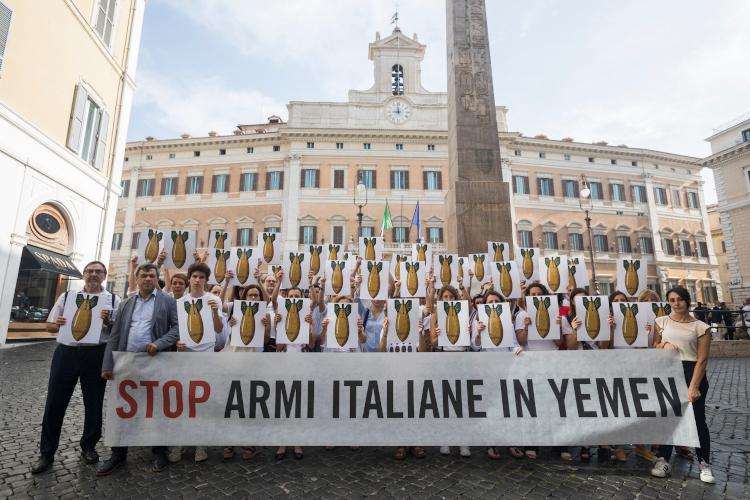 Udienza sul ruolo di RWM Italia e UAMA nei bombardamenti in Yemen: il Tribunale deve garantire che le indagini continuino