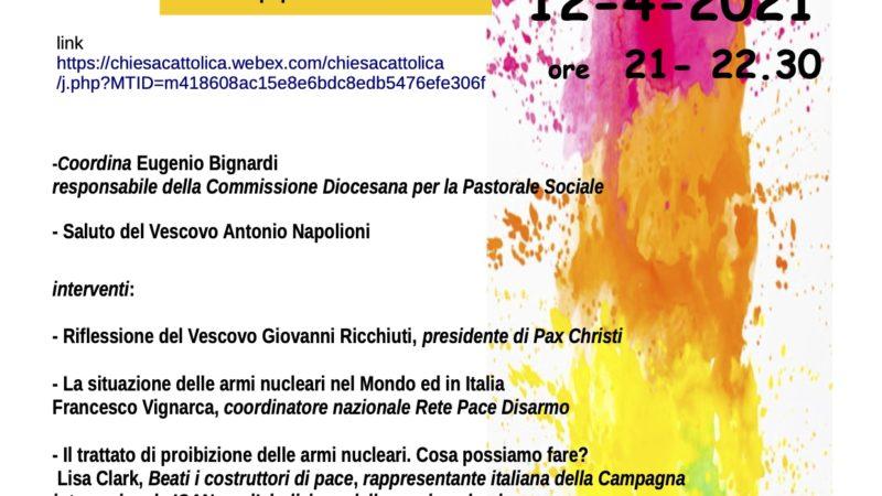 "Stop alle armi nucleari ""Italia, ripensaci"""