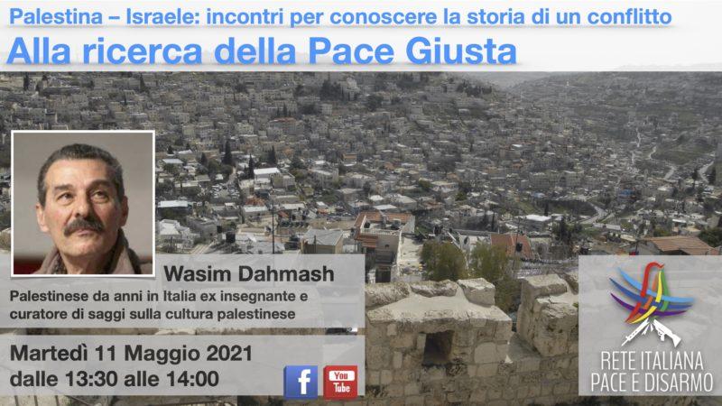 Alla ricerca della Pace Giusta, incontro con Wasim Dahmash