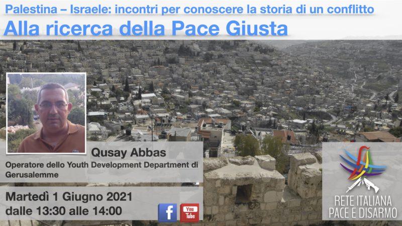 Alla ricerca della Pace Giusta, incontro con Qusay Abbas
