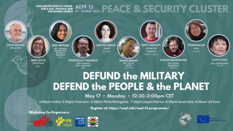 Defund the Military! Definanzia gli eserciti, difendi le persone e il pianeta
