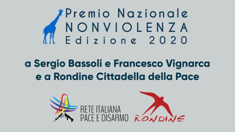 La Rete Pace Disarmo riceve a Sansepolcro il Premio Nazionale Nonviolenza