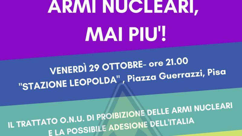 Armi nucleari, mai più!