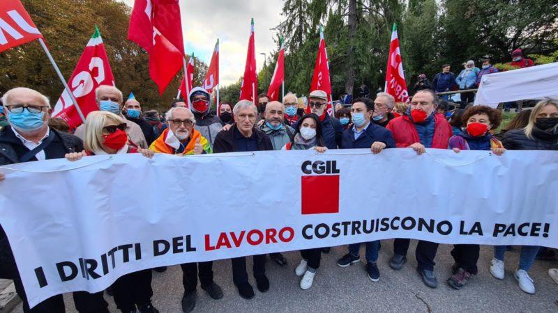 Rete italiana Pace e Disarmo è solidale con la CGIL